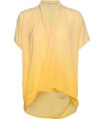 javana blouses short-sleeved geel rabens sal r