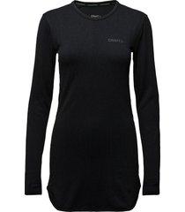 active comfort dress w black base layer tops svart craft