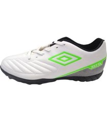 botin blanco umbro attak