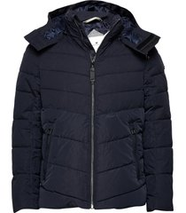 puffer jacke gevoerd jack blauw tom tailor