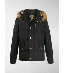 moose knuckles minnetonka hooded down jacket