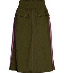 skirt knälång kjol grön adidas originals