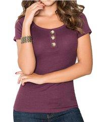 blusa belinda uva para mujer croydon