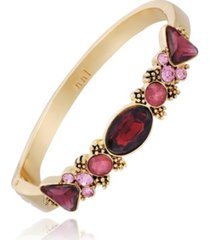 nanette nanette lepore beautifully berry hinged bracelet