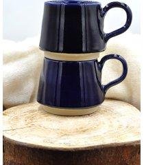 kamionkowa kobaltowa filiżanka na kawę 250 ml