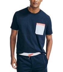 nautica men's graphic ripstop pocket t-shirt