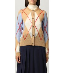 boutique moschino cardigan moschino boutique cardigan in rhombus mohair wool