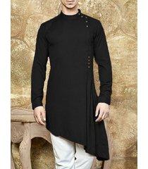 hombres mediano largo árabe árabe musulmán middle east vestido túnica delgado blusa kaftan camiseta