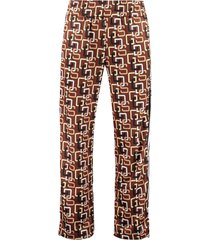 gcds all over print trousers
