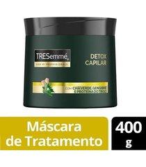 máscara de tratamento tresemmé detox capilar 400g