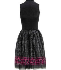 abito con tulle (nero) - bodyflirt boutique