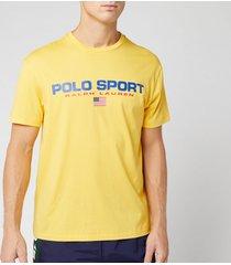 polo sport ralph lauren men's t-shirt - chrome yellow - m