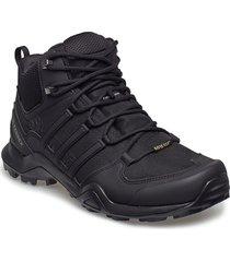 terrex swift r2 mid gtx shoes sport shoes outdoor/hiking shoes svart adidas performance