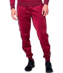 pantalon para hombre authentic la bergar kappa rojo