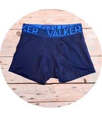 boxer azul valker liso