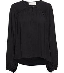 fatima blouse lange mouwen zwart fall winter spring summer