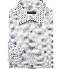 collection geometric print shirt