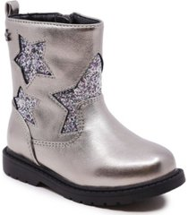 toddler girls side zipper bootie