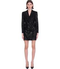 tagliatore dress in black polyester