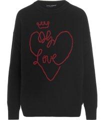 dolce & gabbana dg love sweater