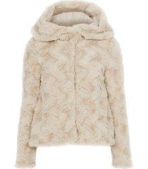 fuskpäls vmcurl hoody faux fur jacket