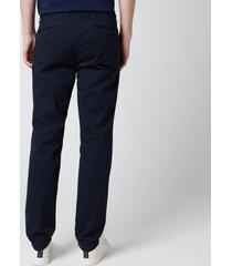 polo ralph lauren men's stretch slim fit chino trousers - aviator navy - w36/l32