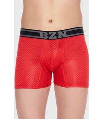 boxer microfibra jacquard rojo baziani