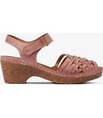 sandalett i träskomodell