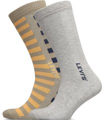 levis men regular cut spliced strip underwear socks regular socks beige levi´s