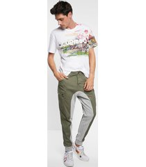 cargo trousers hybrid - green - 38