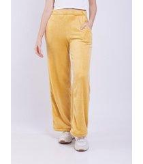 pantalón amarillo donadonna