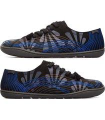 camper twins, scarpe casual donna, nero/blu/nude, misura 42 (eu), k200733-001
