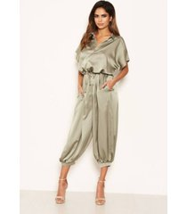 ax paris women's button up jumpsuit