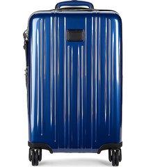 tumi international expandable carry-on suitcase - deep blue