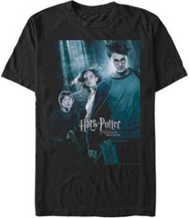 fifth sun harry potter men's prisoner of azkaban forest poster short sleeve t-shirt