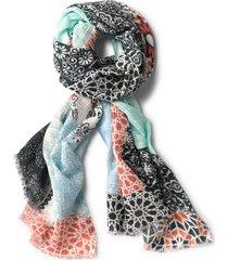 bandana patchwork scarf