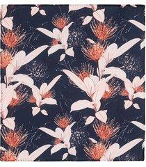 pañuelo de bolsillo con un diseño de flores para hombre 04139
