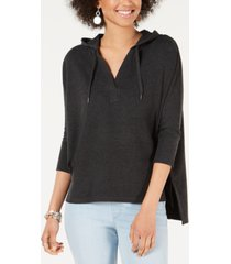 style & co petite pullover hoodie, created for macy's
