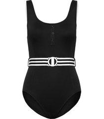 dd tank maillot baddräkt badkläder svart seafolly