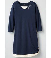 abito in maglina (blu) - john baner jeanswear