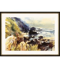 "paragon tidal beach framed wall art, 22"" x 31"""