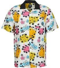overhemd korte mouw vans mn vans x spongebob