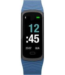 relógio mormaii smart unissex azul