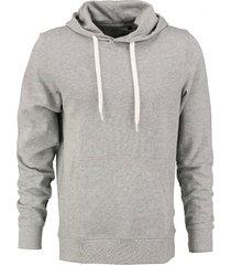 jack & jones zachte grijze sweater hoodie