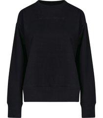 logo cut details sweater