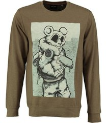 only & sons sweater army