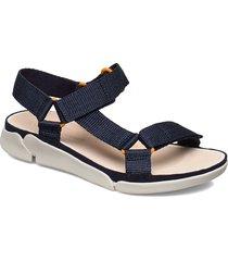 tri sporty shoes summer shoes flat sandals blå clarks
