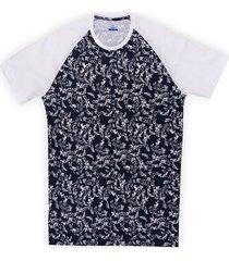 camiseta manga corta con estampado slim fit para hombre 98088