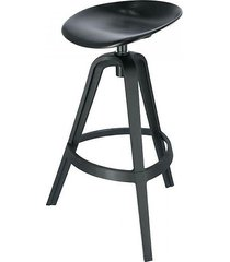 stołek barowy rafa czarny