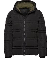 classic hooded primaloft jacket fodrad jacka svart scotch & soda
